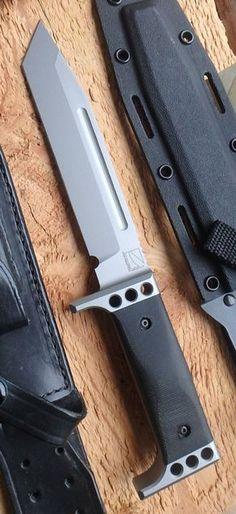 Tom Johanning TAC 11 Custom INTEGRAL Knife Combat Tactical Survival Blade