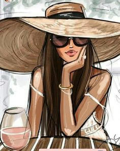 "The temperature says ""pass the thermals"" but my mind says ""pass the Rosé"". Fashion Artwork, Fashion Design Drawings, Fashion Wall Art, Fashion Sketches, Art Sketches, Girly Drawings, Art Drawings, Abstract Drawings, Mode Poster"