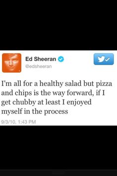 And that right there ladies and gentlemen is one of a million reasons why I love ed sheeran!