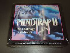 Mindtrap II The Challenge Continues Board Game Sealed New In The Box on eBay!