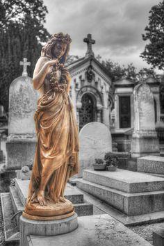 Père Lachaise Cemetery, Paris - France    Père Lachaise Cemetery (French: Cimetière du Père-Lachaise)