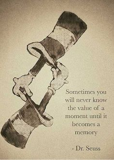 Wise words from Dr. Seuss…