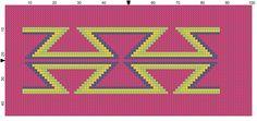 Patroon mochila roze #chart