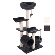 Cat scratching trees and climbing frames – Banana Peel Cat Bed Sisal, Cuddle Bed, Cat Scratching Tree, Cat Gym, Play Tunnel, Gato Grande, Relaxing Colors, Baby Art, Cat Tree