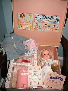 vintage effannbee dydee doll | Details about 1940-50s Vintage Effanbee Dy-Dee Ellen Baby Doll 15 ...