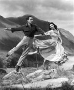 Brigadoon - I've got this soundtrack on vinyl somewhere - is this photo of Gene Kelly and Cyd Charisse?