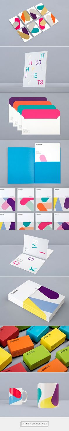 Cerovski - Print Production Studio Identity by Bunch... - a grouped images picture
