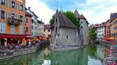 We arrived in Annecy, France from Geneva (June, 2014) and the weather was drizzly, we ventured out with our umbrellas to explore and wandered into the medieval old town, it was picture perfect! The narrow streets, canals, the colour and the local markets made our stay a memorable experience. This photograph of the Palais de I'lle on the Thiou Canal was taken as the weather was clearing, a breathtaking moment! Photo: Jo Ann Dunstan