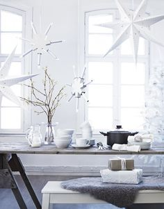 ♥Meg they sell this star at ikea...has a light..maybe good just sitting on your mantel