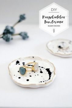 Diy Clay, Clay Crafts, Diy Jewlry, Clay Bowl, Concrete Crafts, Just Because Gifts, Polymer Clay Art, Clay Projects, Diy Art