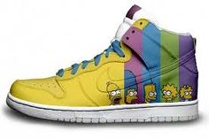 Simpsons Sneakers :)