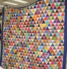 » Blog Archive » A Quilt Block A Day Tutorial – Pyramids!
