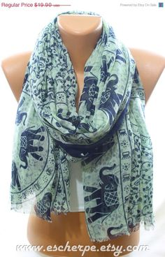 Elephant Print So Soft Mint Navy Summer Scarf Floral by  #escherpe #scarves #scarf #shawl #shawls #wrap #wraps #pastel #white #grey #summer #trend #spring #women #fashion #accessories #holidays #holiday #christmas #gift #gifts #outfit #accessorize #style #stylish #love #TagsForLikes #me #cute #photooftheday #nails #hair #beauty #beautiful #instagood #instafashion #pretty #girly #pink #girl #model #dress #skirt #shoes #heels #styles #shopping #trend #trending #beach #elephant #anchor #navy…