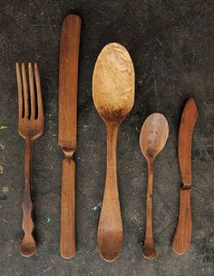 Uncle Tom Bendell - Wood Cutlery