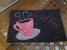 My mother-in-law made this mug rug for me. So cute! | Flickr - Photo Sharing!