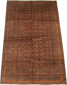 Beautiful hand-knotted Tribal rug from Afghanistan.  http://www.alrug.com/4355