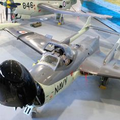 De Havilland Sea Venom F. MK 53 of the Royal Australian Navy at the Fleet Air Arm Museum Nowra Aircraft Images, Aircraft Pictures, Military Jets, Military Aircraft, De Havilland Vampire, Stealth Bomber, Royal Australian Navy, Air Force Aircraft, Flying Boat