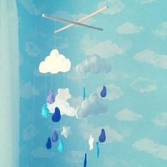 The Making of a Mummy: Up in the clouds ... Nursery decoration