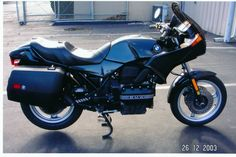 1994 BMW K75S. Absolutely loved this bike - come on BMW and make another triple.