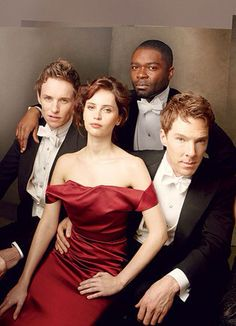 The Brits are coming - Eddie Redmayne, Felicity Jones, David Oyelowo and Benedict Cumberbatch