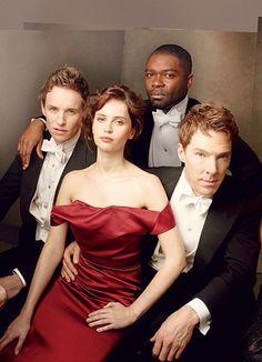The Brits are coming - Eddie Redmayne, Felicity Jones, David Oyelowo and Benedict Cumberbatch