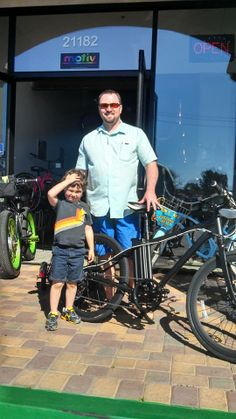 Gabriel's Motiv is to ditch his car and commute to work by electric bike!