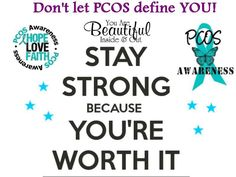 PCOS does not define you!