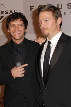 Clifton Collins and Norman Reedus. Boondock Saints II