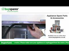 How to replace a dishwasher door seal (Kenwood KDW12ST3A), BuySpares 'how to videos'.