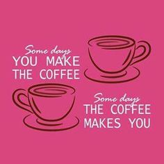 Are you making coffee or is coffee making you today? #Coffee #MrCoffee