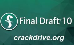Final Draft Crack is one of the most demandable and wonderful software in the market for screenwriting. Screenwriting, Finals, Coding, Activities, Marketing, Tech, Script Writing, Final Exams, Technology