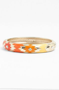 Sequin Ombré Hinged Bangle available at #Nordstrom