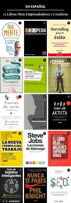 15 Libros para Emprendedores Creativos.