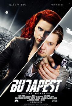 Budapest, The Movie with Black Widow and Hawkeye. This needs to happen #mcu