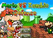 Mario vs Zombie Defense | Juegos de Zombies - jugar zombis online