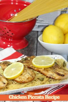 Looking for a yummy recipe for entertaining or dinner tonight? Check out our delicious Chicken Piccata Recipe here!