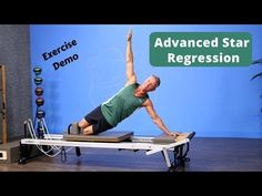 Star Prep on Pilates Reformer Pilates Reformer Exercises, Pilates Workout, Workouts, Pilates For Beginners, Tracy Anderson, Upper Body, Prepping, Yoga, Stars