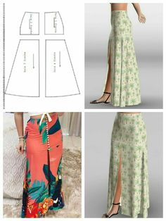 Glamour Glory: How to turn a Straight Skirt into a Flared Skirt Skirt Patterns Sewing, Clothing Patterns, Skirt Sewing, Fashion Sewing, Diy Fashion, Sewing Clothes, Diy Clothes, Women's Dresses, Fashion Dresses