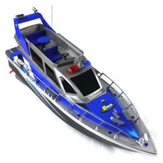 Police Speed RC Boat Electric Full-Function Big-Size Patrol Craft Remote Control Boat with Rechargeable Batteries Price Remote Control Boat, Radio Control, Control 4, Speed Boats, Power Boats, Sesto Elemento, Drone Remote, Whitewater Kayaking, Small Ponds