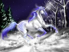 Pictues Very Very Cute crystal Unicorns and peagus | Member Of Celestial Herd - Balinor