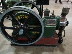 Ruston & Hornsby oil engine