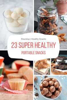 Prep, pack and enjoy these 23 super healthy portable snacks wherever you go - beach, picnic, road trip or in the park with your kiddos. Healthy Picnic, Healthy Travel Snacks, Healthy Breakfasts, Healthy Homemade Snacks, Healthy Food, Healthy Snack Options, Health Snacks, Eating Healthy, No Calorie Snacks