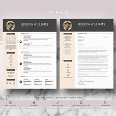 Modern Resume Format New Modern Resume Templates  Professional Resumes For Ms Word  1 2 Review