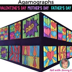Father's Day, Mother's Day and Valentine's Day Agamograph packet. My agamographs…