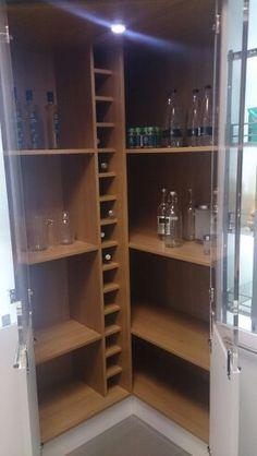Wren Kitchens Ingenious Corner Storage Solution One