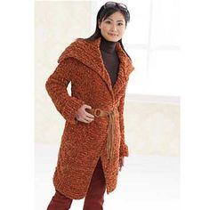 Bohemian Long Coat by Patons