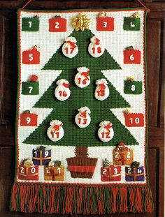 Ravelry: Advent Calendar pattern by Patons