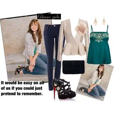 Inspired by Gilmore Girls, created by ivanchica7 on Polyvore