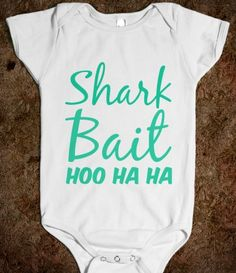 All The Single Babies - Milk Monster & Friends - Skreened T-shirts, Organic Shirts, Hoodies, Kids Tees, Baby One-Pieces and Tote Bags Shark Bait, Little Presents, Bodysuit, Everything Baby, Baby Fever, Just In Case, Boy Outfits, Funny Outfits, Cute Babies