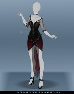 (closed) Outfit Adopt 673 by CherrysDesigns